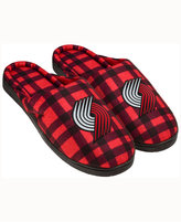 Forever Collectibles Portland Trail Blazers Flannel Slide Slippers