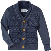 Rockin' Baby Oscar Cable Cardigan (Baby) - Navy Blue - 18-24 Months
