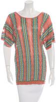M Missoni Knit Multi Colored Top
