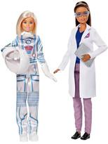 Mattel Inc. Barbie Astronaut & Space Scientist Doll Set
