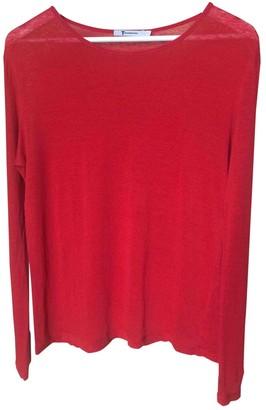 Alexander Wang Red Linen Top for Women