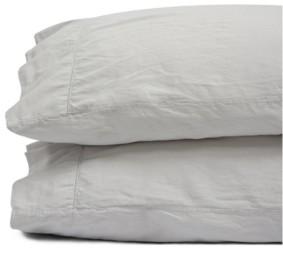Jennifer Adams Home Jennifer Adams Relaxed Cotton Sateen Standard Pillowcases Bedding