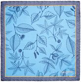 Simon Carter Silk Leaf Hankie
