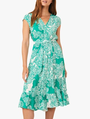 Phase Eight Cosette Dress, Green