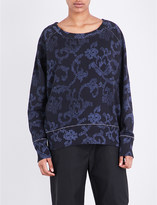 Rag & Bone Max abstract-print cotton sweatshirt