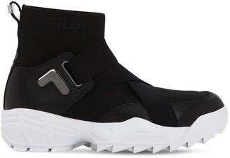 Fila Urban Mfw01 Wmn Logo Nylon Sneakers