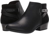 Clarks Addiy Gladys (Black Leather) Women's Boots