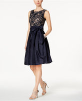 Jessica Howard Petite Embroidered Fit & Flare Dress