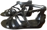 Marc Jacobs Anthracite Plastic Sandals