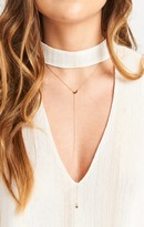 MUMU Over The Moon Necklace ~ Gold