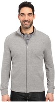 Perry Ellis Classic Full Zip Texture Knit Jacket
