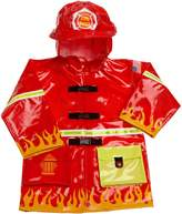 Kidorable Little Boys' Fireman Raincoat, Red, 6-6X