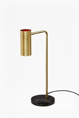French Connection Retro Brass Table Lamp