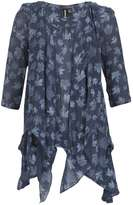 **Izabel London Navy Tunic