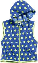 Playshoes Boy's Kids Sleeveless Full Zip Fleece Vest Dots Gilet