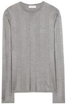 Balenciaga Knitted Silk Sweater