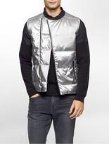 Calvin Klein One Slim Fit Silver Vest