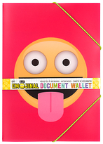 Emojinal A4 Document Wallet