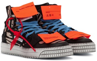 Off-White OFF-COURT 3.0 calf hair sneakers