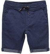 Joe's Jeans Knit Solid Twill Shorts (Toddler & Little Boys)