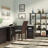 Hillsdale Red Barrel Studio Desk, Bookcase and Filing Cabinet Set Red Barrel Studio