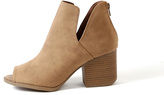 Qupid Core Side Cut Bootie