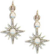Nanette Lepore Starburst Front Back Earrings