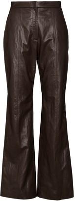 LVIR High-Waisted Bootcut Trousers
