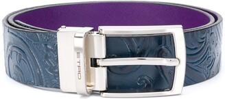 Etro Paisley Detail Belt