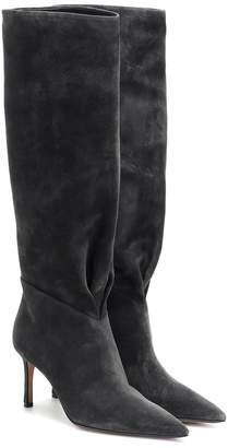 Samuele Failli Esme 75 suede knee-high boots
