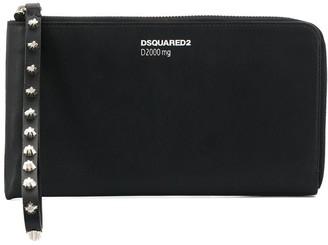 DSQUARED2 Stud Embellished Purse