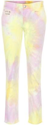 Stella McCartney Tie Dye high-rise straight jeans