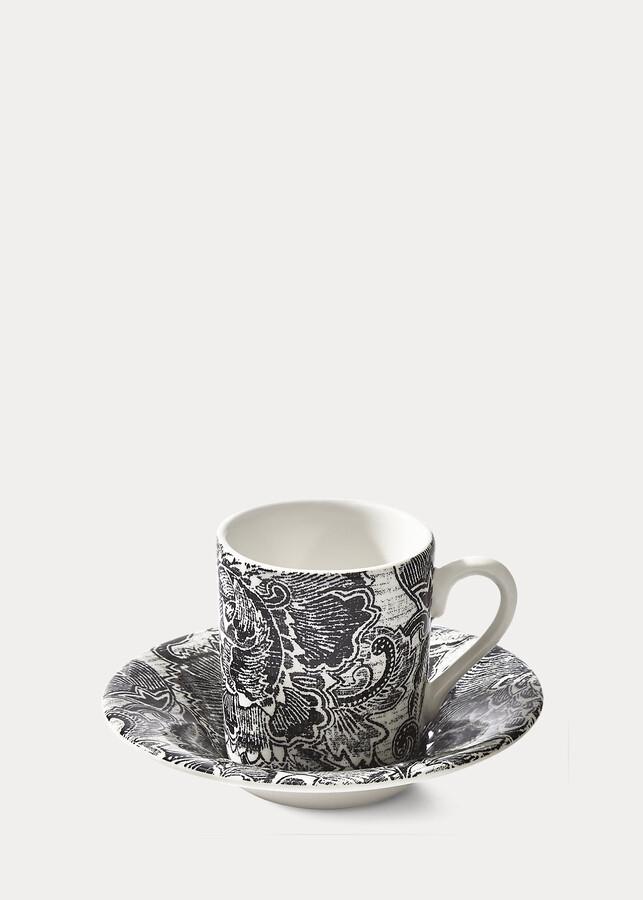 Ralph Lauren Faded Peony Espresso Cup