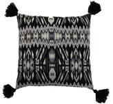 Jiti Symmetrical Tassel Square Pillow
