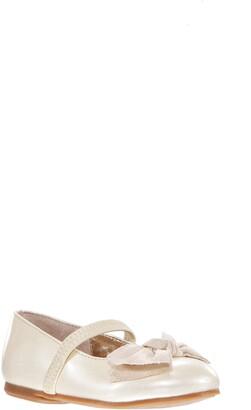 Nina Glitter Bow Ballet Flat