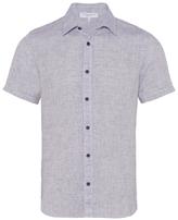 Orlebar Brown Meden Tailored Short Sleeve Button Down