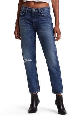 Hudson Jeans Jessi High Waist Nonstretch Relaxed Boyfriend Jeans
