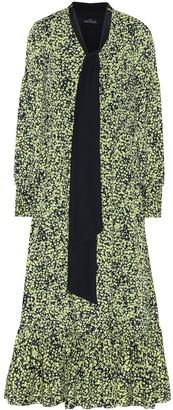 Rokh Floral midi dress