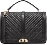 Rebecca Minkoff Geo Quilt Jumbo Love Bag