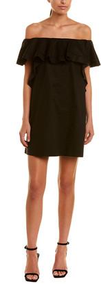 Rachel Zoe Off-The-Shoulder Mini Dress