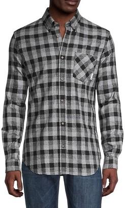 Ben Sherman Check-Print Slim-Fit Shirt