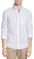 Gant Men's Broadcloth Dot Sport Shirt