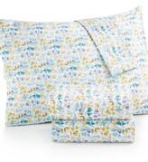 bluebellgray Rowan Floral-Print King Sheet Set