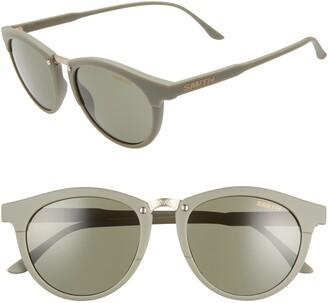 Smith Questa 50mm ChromaPop(TM) Round Sunglasses