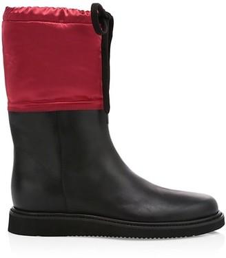 Aquatalia Camillia Shearling-Lined Boots