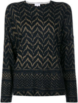 Lala Berlin printed sweatshirt - women - Wool - M