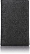 Barneys New York Men's Vertical Folding Card Case-BLACK