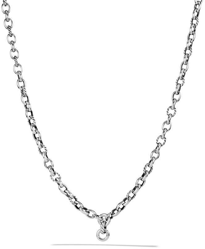 David Yurman Oval Link Chain Necklace