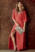 LuLu*s Where the Wind Blows Coral Red Maxi Dress