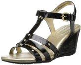 Bandolino Women's Kimili Synthetic Wedge Sandal